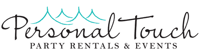Personal Touch Party Rentals & Events logo